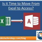 moving from Excel to Access