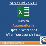 excel vba tip open files automatically in excel