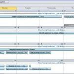 MS Project Calendar View - Project Training Atlanta