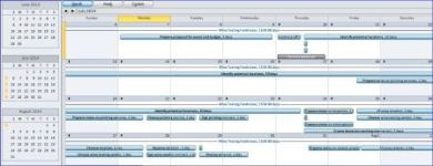 MS Project Calendar View - Project Training Atlanta