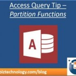Partition function - Access Totals Queries