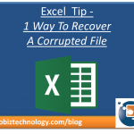 blog post recover corrupted excel file
