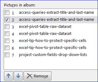 powerpoint arranging deleting pictures