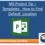 Project 2013 Template Location